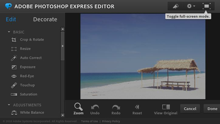 adobe photshop express