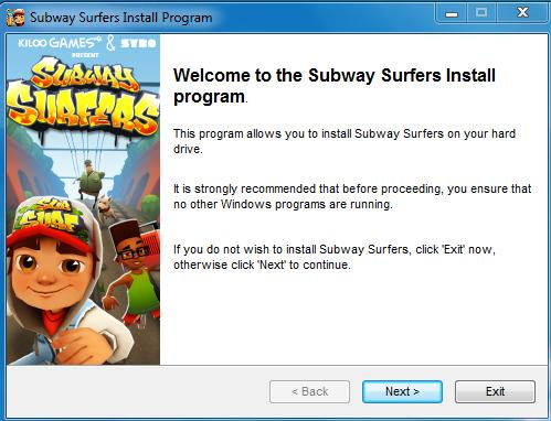 subway surfer pc
