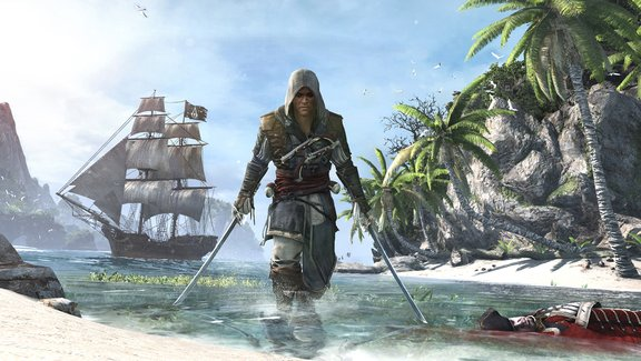 assassin creed IV black flag playstation 4 games