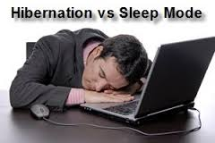 hibernate vs sleep