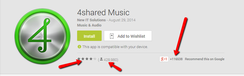 4shared music downloads and rating