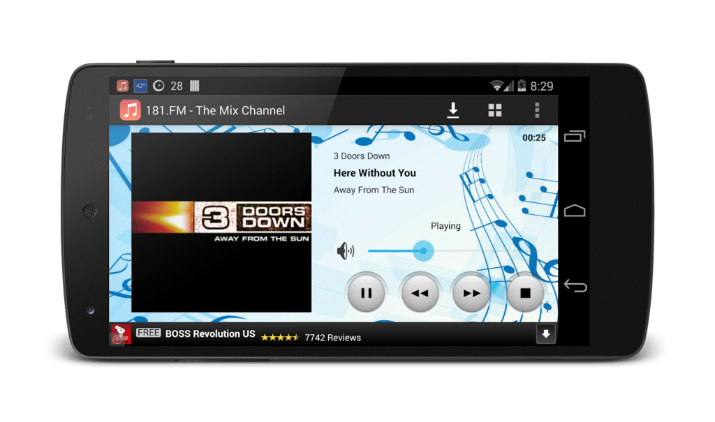 Music Maniac android app for mp3 download