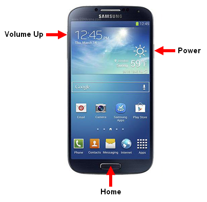 how to enter recovery mode galaxy s4