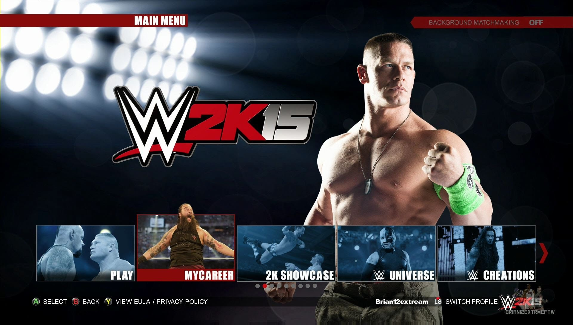 how to update 2k15 on xbox one - Game Screen