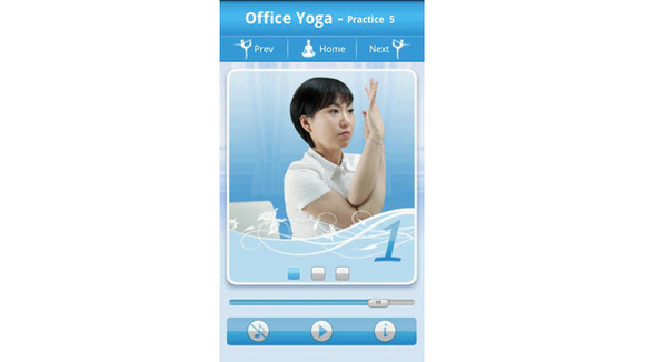 yoga trainer for good fitness