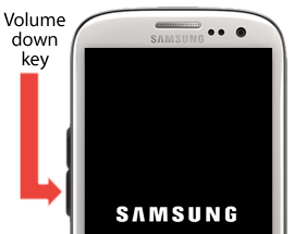 enable Safe mode on samsung galaxy