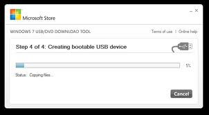 windows 7 bootable usb