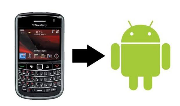 How to Transfer blackberry contacts to android