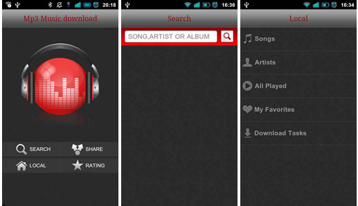Collnet Best Mp3 Downloader For Android For Music Lovers