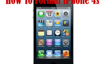 How to Format iPhone 4s