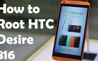 How to root htc desire 816