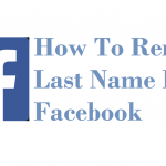How to Hide Last Name on Facebook
