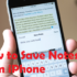 How to save notes from iPhone to Mac or Windows – 2 Simple Methods